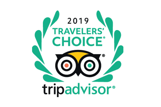 TripAdvisor Travelers Choice Award 2019