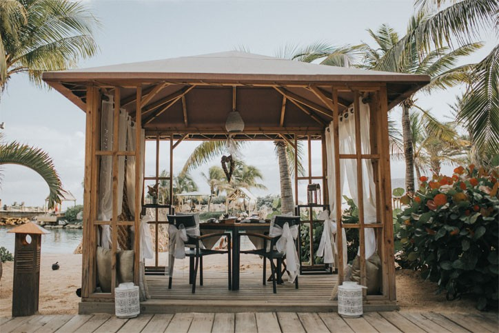 baoase-romantic-dining gazebo combo