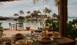 Breakfast at Baoase Luxury Resort